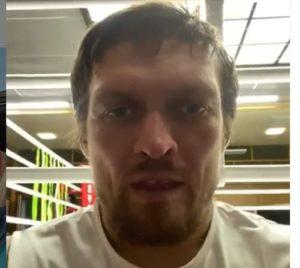 Александр Усик прокомментировал перенос боя с Чисорой