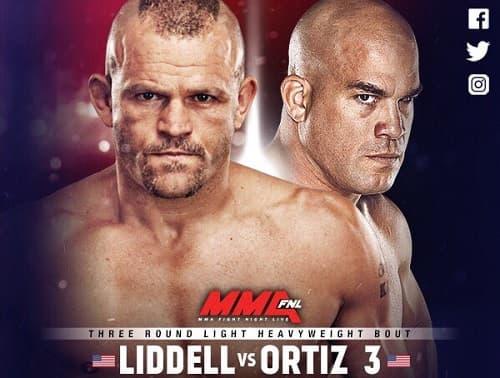 Видео боя Чак Лидделл - Тито Ортис / UFC 66