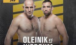 Vidéo de combat complet: Alexey Oleynik — Fabricio Werdum / UFC 249