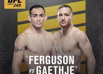 Кард турнира UFC 249 — Фергюсон — Гейджи