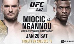 Видео боя Фрэнсис Нганну — Стипе Миочич / UFC 220