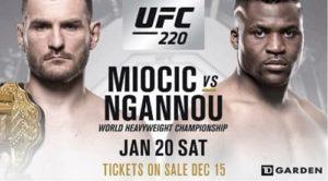 Видео боя Фрэнсис Нганну - Стипе Миочич / UFC 220