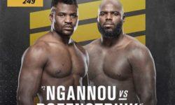 Vidéo de combat complet: Francis Ngannou — Jairzinho Rozenstruik / UFC 249