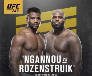 Vidéo de combat complet: Francis Ngannou - Jairzinho Rozenstruik / UFC 249