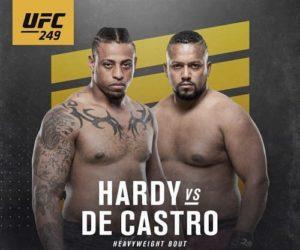 Full fight video: Greg Hardy vs. Yorgan de Castro / UFC 249