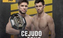 Vidéo de combat complet: Henry Cejudo — Dominick Cruz / UFC 249