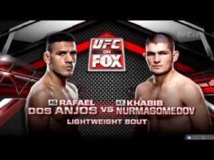 Видео боя Хабиб Нурмагомедов - Рафаэль Дос Аньос / UFC on FOX