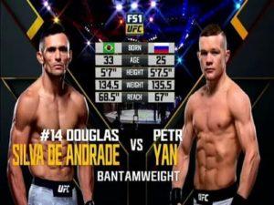 Видео боя Пётр Ян - Дуглас Силва ди Андради / UFC 232