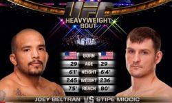 Видео боя Стипе Миочич — Джоуи Бельтран / UFC 136