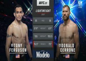 Full fight video: Tony Ferguson vs. Donald Cerrone / UFC 238