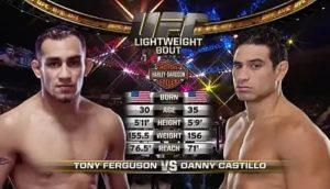 Видео боя Тони Фергюсон - Дэнни Кастильо / UFC 177