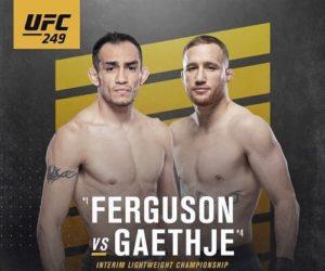 Vidéo de combat complet: Tony Ferguson - Justin Gaethje / UFC 249