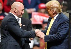 Трамп заявил о скором возвращении спорта на арены США