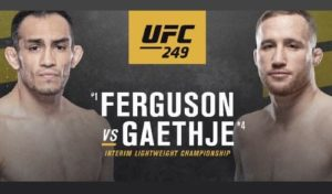Предстоящий турнир 9 мая получил официальное название: UFC 249