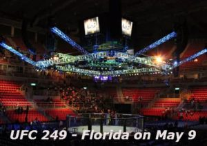 Инсайдер: UFC 249 пройдет 9 мая во Флориде