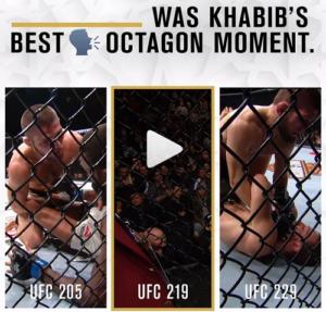 UFC опубликовали видео разговоров Нурмагомедова во время боев