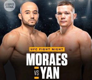 Бой Яна и Мораеса пройдет на бойцовском острове UFC