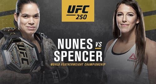 UFC 250 - Прямая трансляция