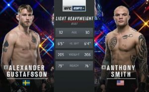 Full fight video: Anthony Smith vs. Alexander Gustafsson / UFC Fight Night 153