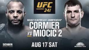 Видео боя Даниэль Кормье - Стипе Миочич / UFC 241