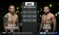 Full fight video: Gabriel Green vs. Daniel Rodriguez / UFC on ESPN 9
