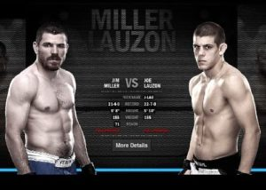 Видео боя Джим Миллер - Джо Лозон / UFC 155
