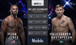Full fight video: Jon Jones vs. Alexander Gustafsson 1 / UFC 165