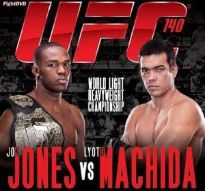 Full fight video: Jon Jones vs. Lyoto Machida / UFC 140