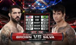 Full fight video: Matt Brown vs. Erick Silva / UFC Fight Night 40
