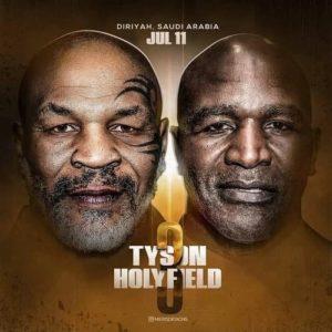 Бой Тайсона против Холифилда 3 - 11 июля