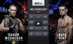 Full fight video: Nate Diaz vs. Conor McGregor / UFC 196