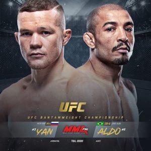 Петр Ян и Жозе Альдо сразятся за титул чемпиона UFC