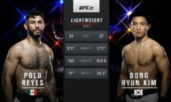 Full fight video: Polo Reyes vs. Dong Hyun Kim / UFC 199