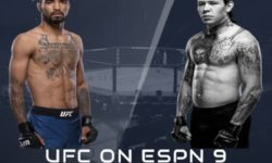 Full fight video: Roosevelt Robertsq vs. Brok Weaver / UFC on ESPN 9