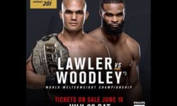 Full fight video: Tyron Woodley vs. Robbie Lawler / UFC 201