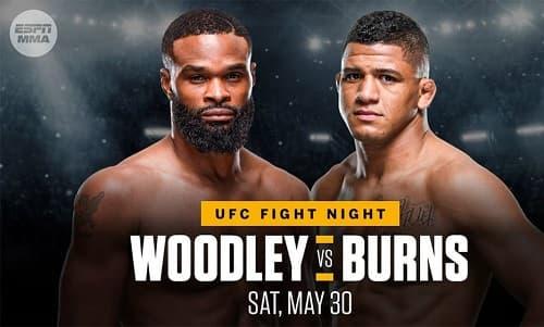 UFC on ESPN 9 - Прямая трансляция: Вудли - Бернс