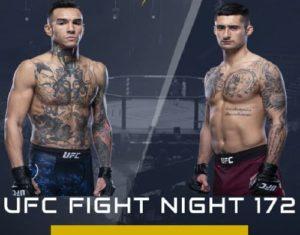 Видео боя Андре Фили - Чарльз Журдэн / UFC On ESPN 10