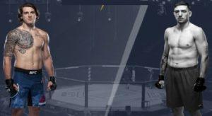 Видео боя Брендан Аллен - Кайл Даукаус / UFC on ESPN 12