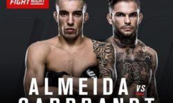 Full fight video: Cody Garbrandt vs. Thomas Almeida / UFC Fight Night 88
