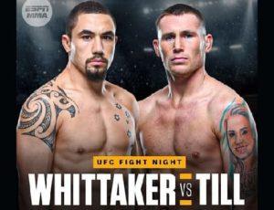 UFC Fight Night: Роберт Уиттакер - Даррен Тилл