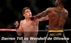 Full fight video: Darren Till vs. Wendell de Oliveira / UFC Fight Night 67
