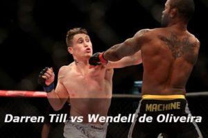 Видео боя Даррен Тилл - Вендел ди Оливейра / UFC Fight Night 67