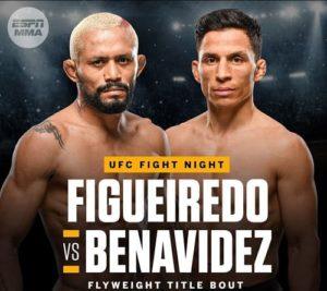 UFC Fight Night: Дейвисон Фигейреду - Джозеф Бенавидес 2