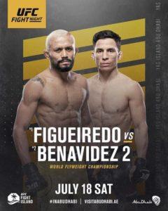 Дейвсон Фигейредо - Джозеф Бенавидес UFC FightIsland 2