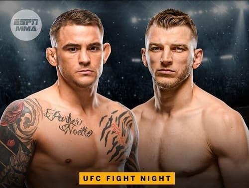 UFC Fight Night: Дастин Порье vs Дэн Хукер