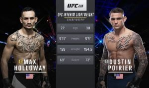 Full fight video: Dustin Poirier vs. Max Holloway / UFC 236