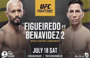 Видео боя Дейвисон Фигейреду - Джозеф Бенавидес 2 / UFC Fight Night 172