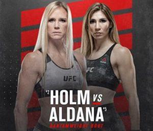UFC Fight Night: Холли Холм - Ирене Альдана