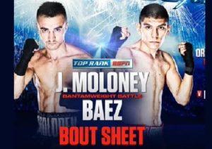 Full fight video Jason Moloney vs. Leonardo Baez