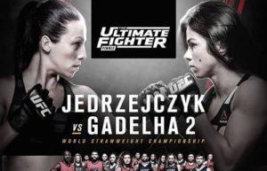 Full fight video: Joanna Jedrzejczyk vs. Claudia Gadelha 2 / TUF 23